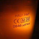 Bar Covell: Beer in a Half-Pint Glass