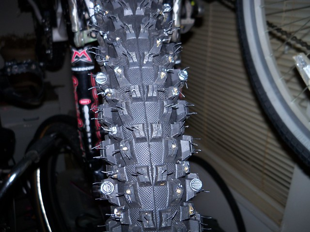 Bike Forums - Making Your Own Studded Tyres