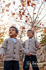 Fall Fun :) (Ty Johnson Photography) Tags: life family autumn boy motion color cute male fall love nature boys colors smile leaves kids children fun outside outdoors happy leaf sweater kid nikon child play brothers outdoor candid seasonal joy happiness foliage human giggle toss throw 2470 d90 simga nikond90