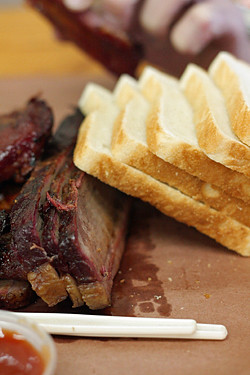 brisket and bread
