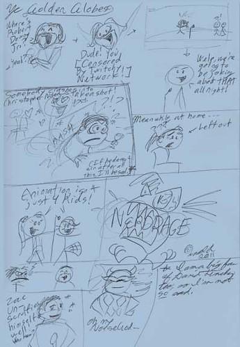 1.16.11 - Golden Globe Doodles