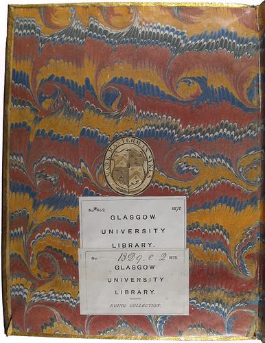Book label of Sir Mark Masterman Sykes in Leonardus de Utino: Quadragesimale aureum
