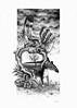 """""""Bodybuildebz"""" by Paum/Sarin (GhettoFarceur) Tags: paper fan a3 crayon graphite gf debz paum neist sarin gehtto rems bims farceur kloz"""