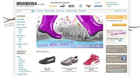 Brandosa homepage