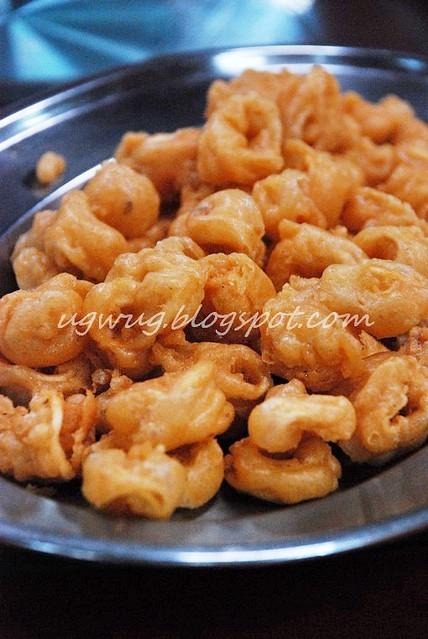 Deep Fried Sotong (Calamari)