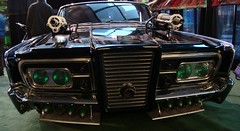 The Green Hornet's Black Beauty at the 2011 Detroit Auto Show #4 (Treasures From Paul's Basement) Tags: blackbeauty detroitautoshow classictv vanwilliams thegreenhornet
