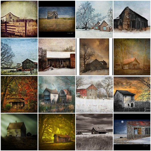 "Theme shots ""Barns and Cabins"" ~ Part II"
