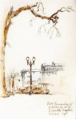 Portland SketchCrawl - Around the Schnitzer Auditorium