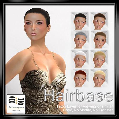 Tukinowaguma Hairbase