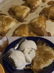 1_18_11 (powerpuffkay) Tags: ice cooking project dessert baking yummy martha cream turnovers homemade stewart honey vanilla 365 ricotta