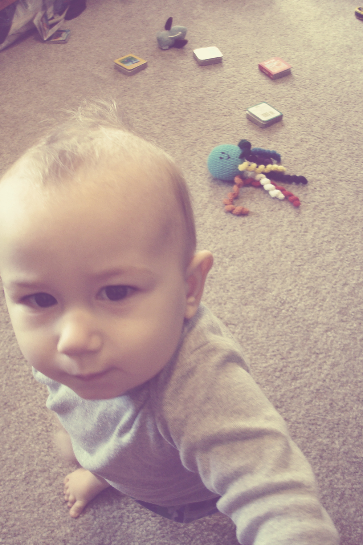 yup, i'm 10 months old.