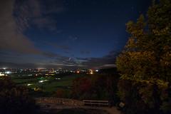 Champlain Lookout : September 27, 2016 (jpeltzer) Tags: ottawa gatineaupark gatineau champlainlookout night stars nightsky