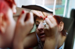 bir (nesterens) Tags: wedding mirror sister makeup zenit makyaj