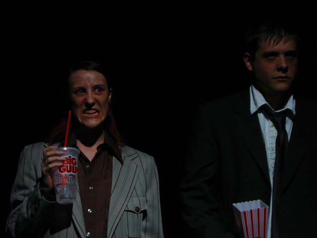 Quench (Mandi Moss) and Mr. Dystrophy (Colin Willkie).