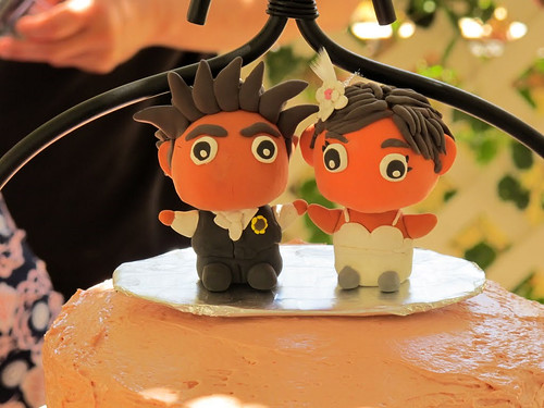 Bon&Chi wedding cake topper