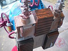 "TEENAGE MUTANT NINJA TURTLES :: ""Technodrome Scout Vehicle"" { 1993 } KB Toys Reissue // ..detail xxiii (( 1998 ))"