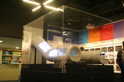 Crossrail Exhibition - Scale Model
