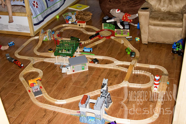 Thomas Wooden Train Track Layouts