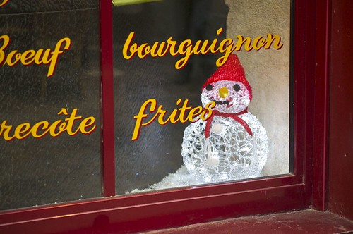 Holiday Red in Montmartre