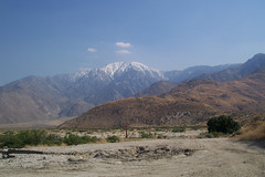 View of Mt. San Jacinto from San Gorgonio Pass