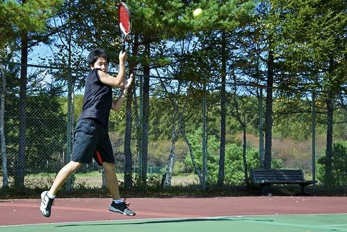 Tennis - En el aire