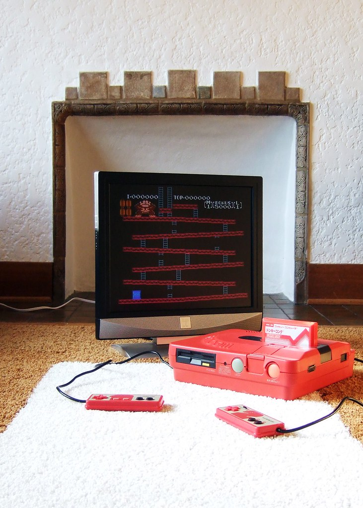 Donkey Kong + Red Twin Famicom