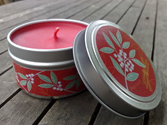Cinnamon & Bayberry candle