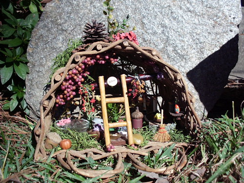 The Berry Nook Fairy House