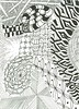 L_zentangle112010 (sthillen521) Tags: tile pattern patterns letters doodle doodles tangle tangled micronpen zentangle tangling