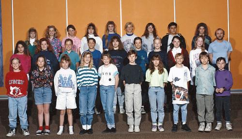 6th grade class 1991