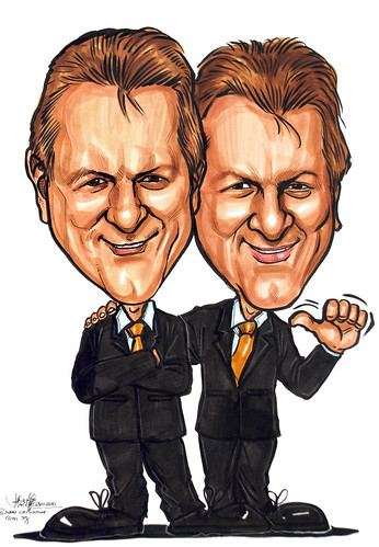 Caricatures for Pan Pacific Hotel to DHL - 2