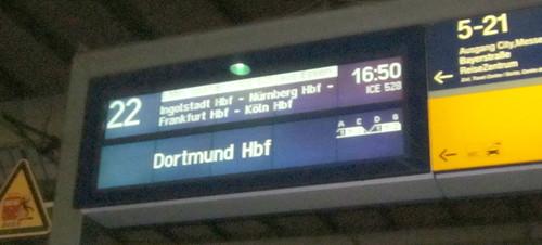 Verspätung ICE München-Frankfurt
