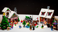 LEGO Christmas card design (VictorMk1 (read my profile)) Tags: christmas xmas favorite snow toys design lego card merry kaart kerst kerstfeest kerstkaart 16x9 speelgoed faved vrolijk 10199 10216 strobist