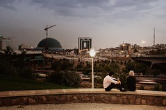 A couple in Tehran (aryapix) Tags: summer love couple iran o ab romantic tehran hdr eshgh atash hemmat dokhtar pessar
