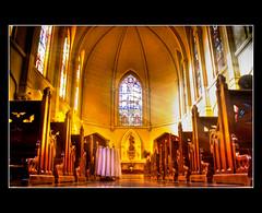 Iglesia-De-La-Santa-Luz - Base Punta Alta (Ariel Mancini - Fotografia) Tags: luz religion iglesia fe hdr santo dios santidad comunion mywinners arielmancini