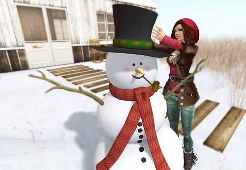 Temp & Snowman
