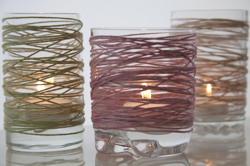 How to: wrapped tealights...