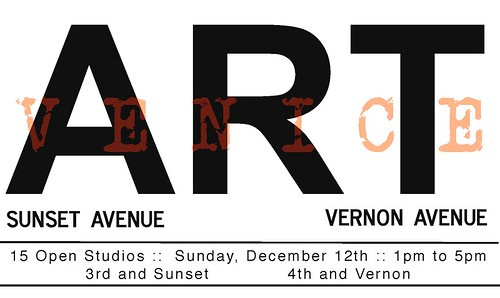 Venice Art : Sunset + Vernon