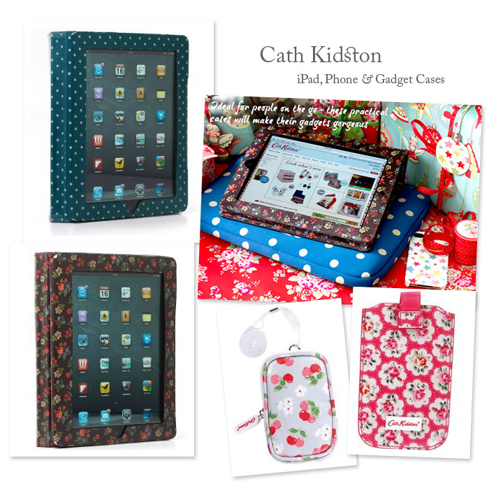 Gift Guide: Laptop Bags and Gadget Sleeves from Orla Kiely, Cath Kidston and Fossil