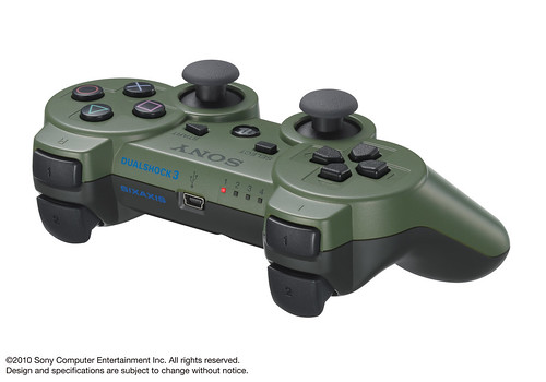 Jungle Green DS3 controller