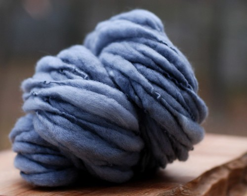 hand spun yarn from spring tree road