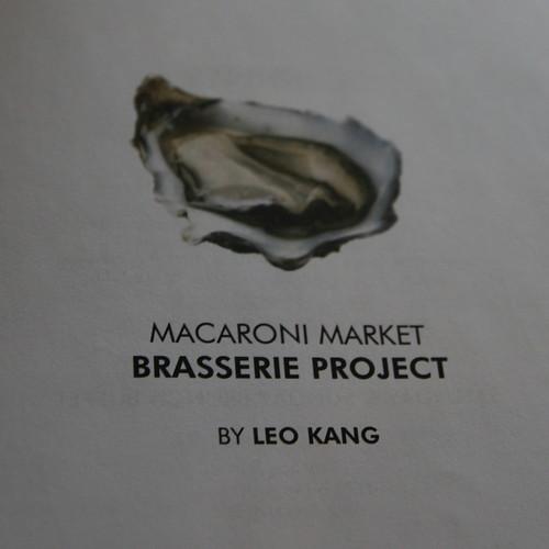 Macaroni Market Brasserie Project