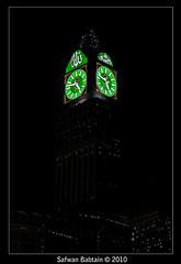 Makkah Clock - ســاعة مكة (Safwan Babtain - صفوان بابطين) Tags: world clock largest makkah highest برج the مكه ساعه ساعة مكة زمزم صفوان بابطين