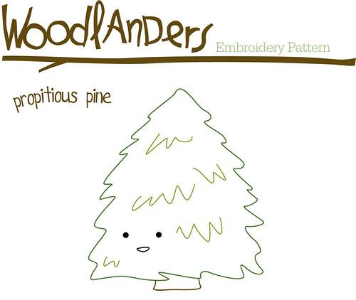 Woodlanders December Pattern