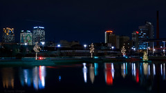 the magic city (natedregerphoto) Tags: birmingham nikon cityscape iso400 alabama christmastree christmaslights lightroom favorited d90 railroadpark 35mmequiv 0mmf0