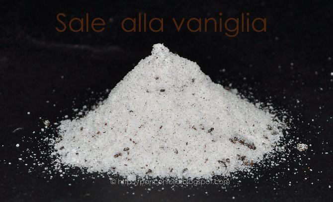 Sale alla vaniglia
