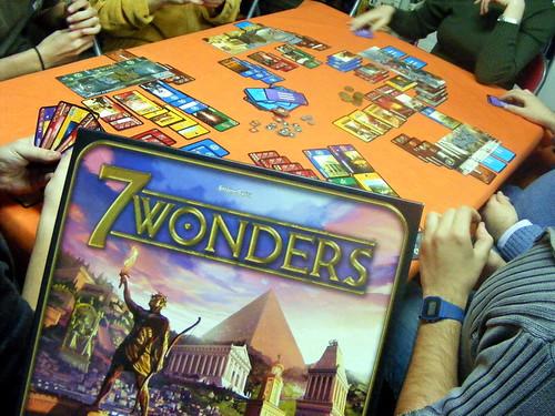 7 Wonders De Antoine Bauza