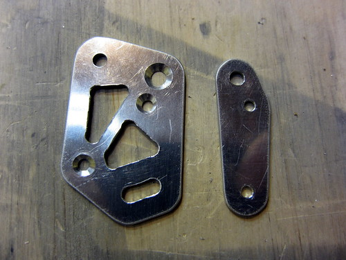Stall Warning Bracket Parts