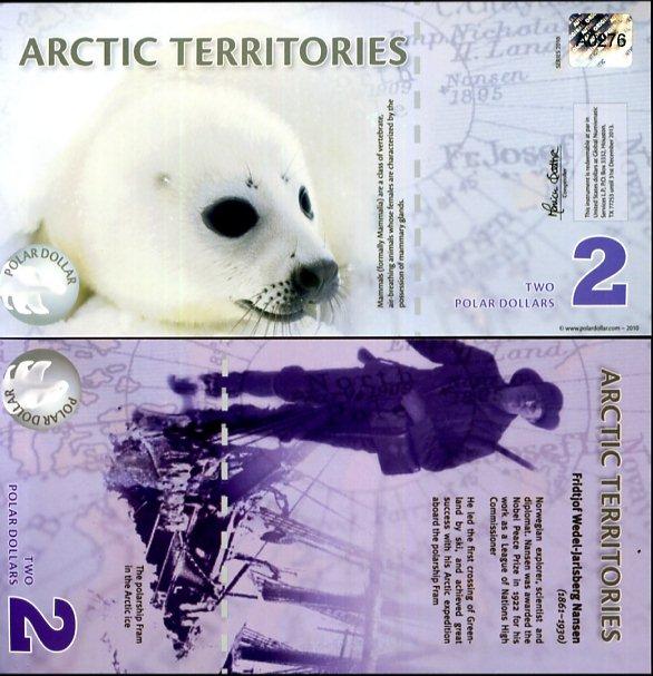 2 Polárne doláre Arktída 2010