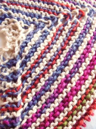 garter stitch shawl